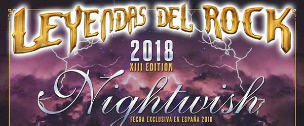 Nightwish, Devildriver y más, en el Leyendas del Rock '18