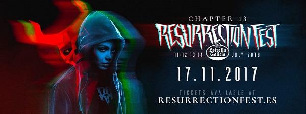 Primeras confirmaciones del Resurrection Fest 2018