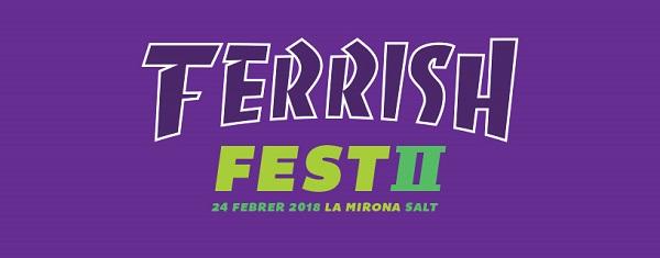 Ya hay cartel para la segunda edición del Ferrish Fest