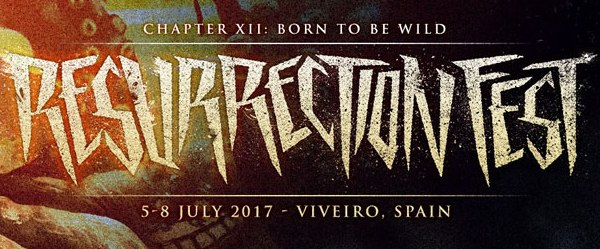 Cartel por días del Resurrection Fest
