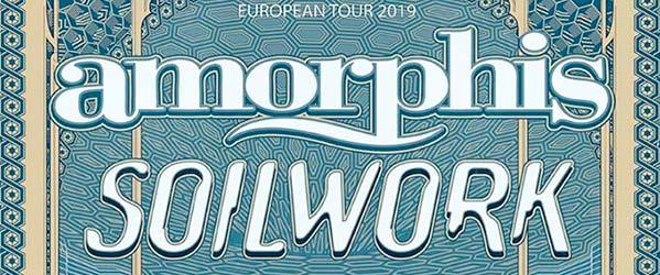 Amorphis y Soilwork nos visitarán en 2019