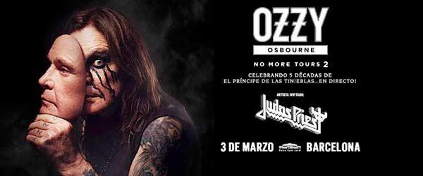 Ozzy Osbourne y Judas Priest nos visitarán en marzo