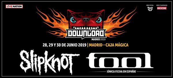 Nuevo anuncio de bandas del Download Madrid