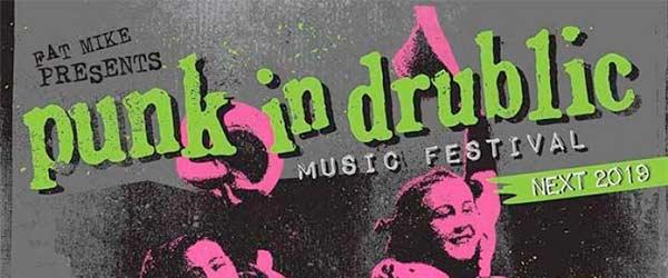 Horarios para el Punk In Drublic