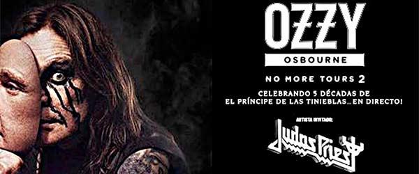 Nuevas fechas para la gira de Ozzy Osbourne y Judas Priest