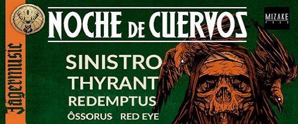 Nueva edición de Noche de Cuervos en Málaga