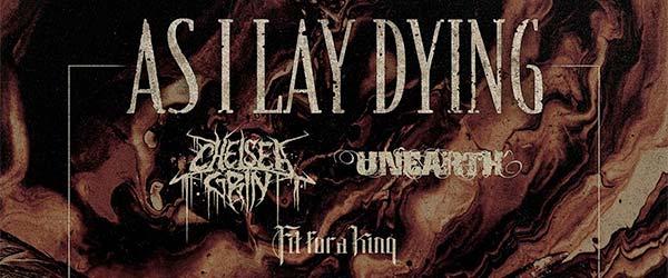 As I Lay Dying nos visitarán en octubre bien acompañados