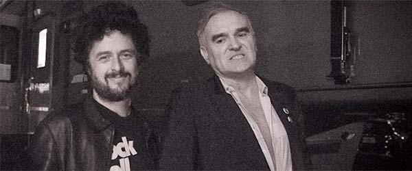 Adelanto de Morrissey con Billie Joe Armstrong