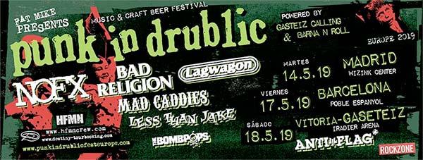 Crónica: Punk In Drublic en Vitoria-Gasteiz