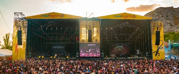 Nuevo escenario y entradas por día en el Rabolagartija