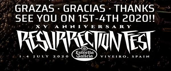 Ya hay fechas para el próximo Resurrection Fest