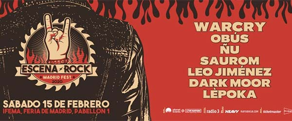 Nace el Escena Rock Madrid Fest