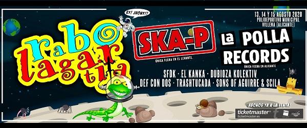 La Polla Records y Ska-P al Rabolagartija 2020