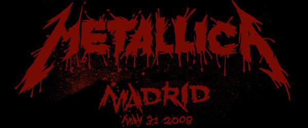 Metallica publica su concierto en Madrid de 2008