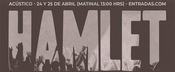 [Crónica] 24.04 - Hamlet en Teatro Muñoz Seca, Madrid