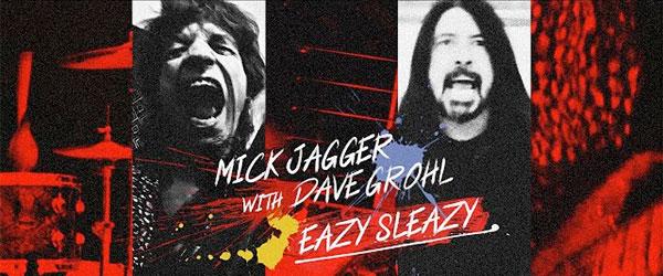 Mick Jagger y Dave Grohl lanzan un tema juntos