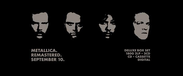 """Metallica reeditarán """"Black Album"""" a lo grande"""